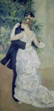 Dance in the City, 1883 by Pierre-Auguste Renoir