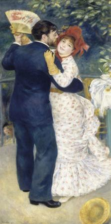 Dance in the Country 1883 by Pierre-Auguste Renoir