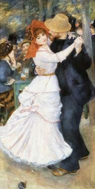Danse à Bougival by Pierre-Auguste Renoir