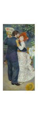 Danse a la campagne (Dance in the country). Oil on canvas (1883) 180 x 90 cm R. F. 1979-64. by Pierre-Auguste Renoir