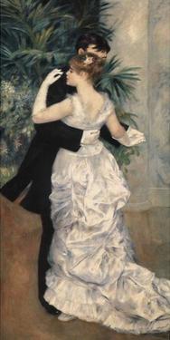 Danse de la ville by Pierre-Auguste Renoir