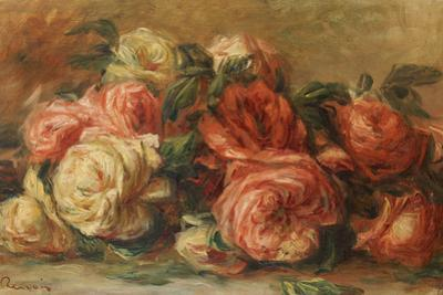 Discarded Roses by Pierre-Auguste Renoir