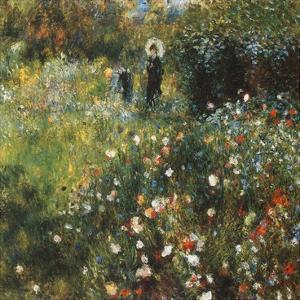 Femme à l'ombrelle by Pierre-Auguste Renoir