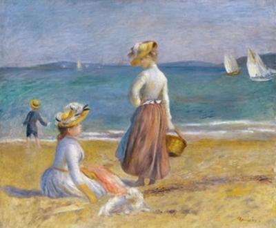 Figures on the Beach by Pierre-Auguste Renoir