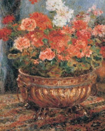 Flowerpot by Pierre-Auguste Renoir