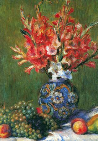 Pierre Auguste Renoir Flowers and Fruit Art Print Poster