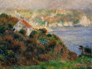 Fog on Guernsey, 1883 by Pierre-Auguste Renoir