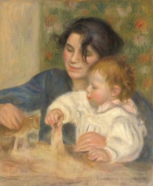 Gabrielle et Jean, 1895-1896 by Pierre-Auguste Renoir