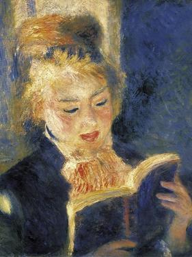 Girl Reading by Pierre-Auguste Renoir