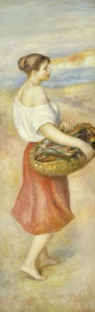 Girl with Basket of Fish, c1890 by Pierre-Auguste Renoir