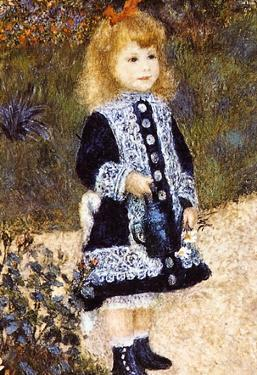 Pierre Auguste Renoir Girl with the Watering Can Art Print Poster