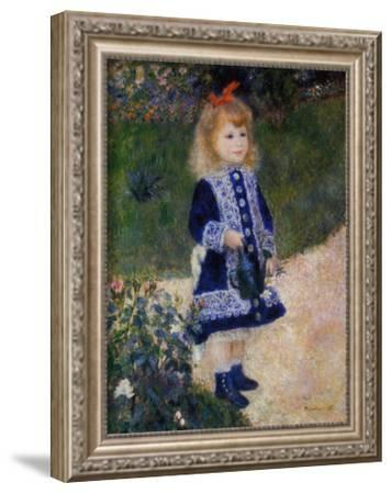 Girl with Watering Can by Pierre-Auguste Renoir