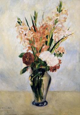 Gladiolus by Pierre-Auguste Renoir
