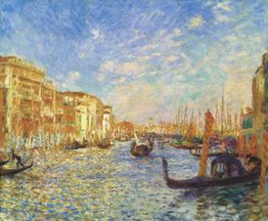 Grand Canal, Venice, 1881 by Pierre-Auguste Renoir
