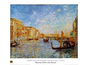 Grand Canal Venice by Pierre-Auguste Renoir