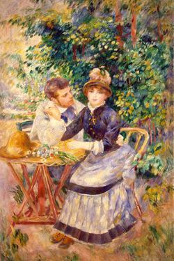 In the Garden, 1885 by Pierre-Auguste Renoir