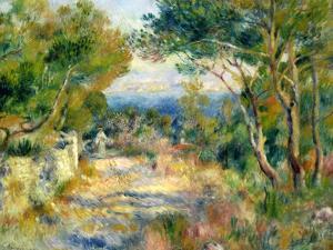 L'Estaque, 1882 by Pierre-Auguste Renoir