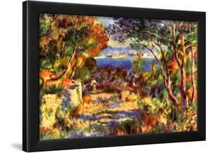 Pierre Auguste Renoir l'Estaque Art Print Poster