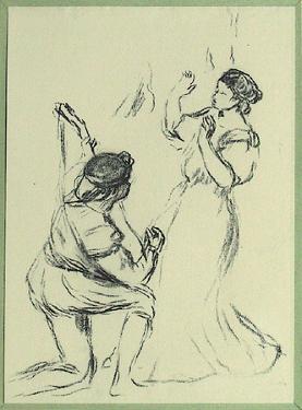La Belle et le Troubadour by Pierre-Auguste Renoir