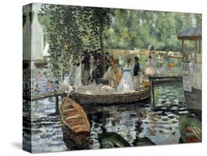 La Grenouillère, 1869 by Pierre-Auguste Renoir