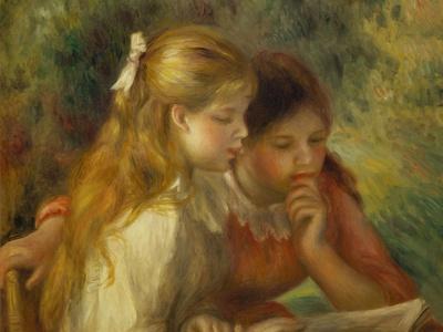 La lecture (The reading) Oil on canvas, 1890-1895 55 x 65.5 cm R.F.1961-70 .