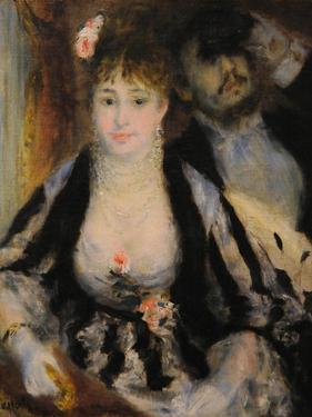 La Loge (The Theatre Bo), 1874 by Pierre-Auguste Renoir