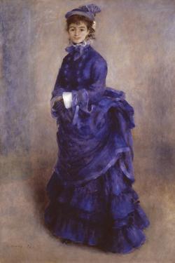 La Parisienne by Pierre-Auguste Renoir