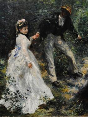 La Promenade, 1870 by Pierre-Auguste Renoir