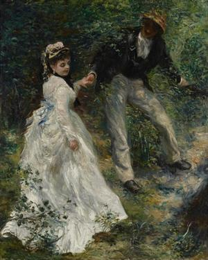 La Promenade by Pierre-Auguste Renoir