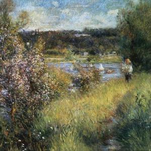 La Seine à Chatou 2 by Pierre-Auguste Renoir