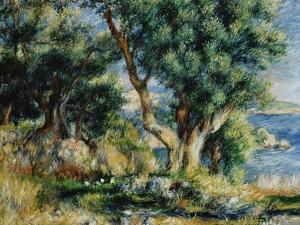 Landscape near Menton by Pierre-Auguste Renoir