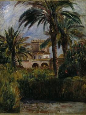 Le Jardin d'Essai a Alger, 1882 by Pierre-Auguste Renoir