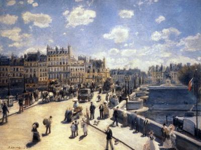 Le Pont-Neuf, à Paris