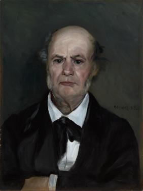 Léonard Renoir, the Artist's Father, 1869 by Pierre-Auguste Renoir