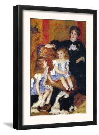 Madame Charpentier and Her Children by Pierre-Auguste Renoir