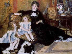 Madame Georges Charpentier and Her Children, 1878 by Pierre-Auguste Renoir
