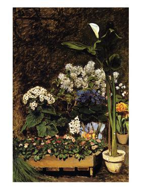 Mixed Spring Flowers by Pierre-Auguste Renoir