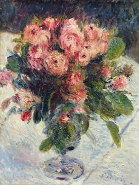 Moss-Roses, c.1890 by Pierre-Auguste Renoir