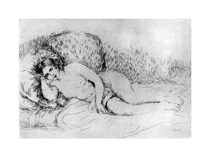 Nude, C1860-1910 by Pierre-Auguste Renoir
