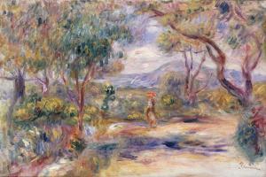 Paysage a Cannes (Renoir's Garden) c.1914 by Pierre-Auguste Renoir