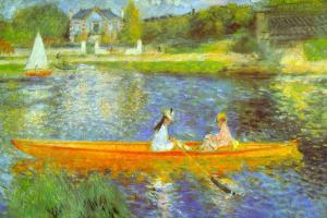 Pierre Auguste Renoir The Seine by Pierre-Auguste Renoir
