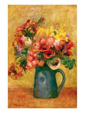 Pitcher of Flowers by Pierre-Auguste Renoir
