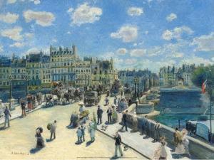 Pont-Neuf, 1872 by Pierre-Auguste Renoir