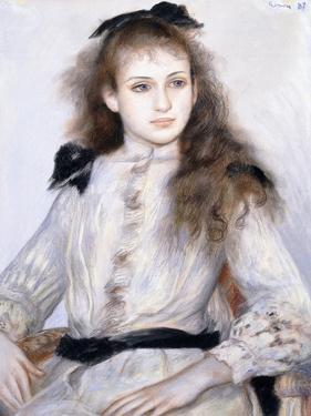 Porrait of Madeleine Adam, 1887 by Pierre-Auguste Renoir