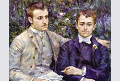Portrait of Charles and George by Pierre-Auguste Renoir