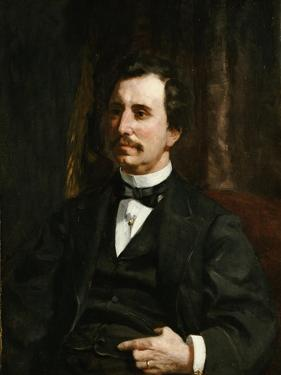 Portrait of Colonel Barton Howard Jenks by Pierre-Auguste Renoir