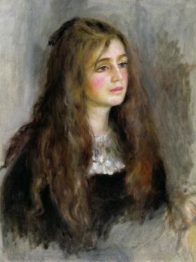 Portrait of Julie Manet (1878-1966) 1894 by Pierre-Auguste Renoir