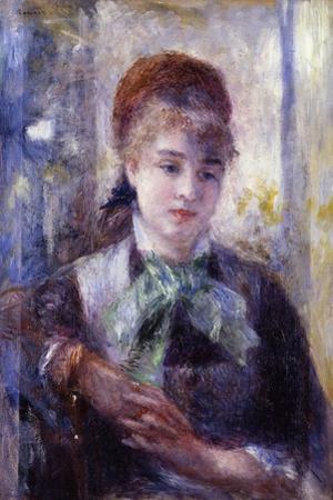 Portrait of Nini Lopez by Pierre-Auguste Renoir