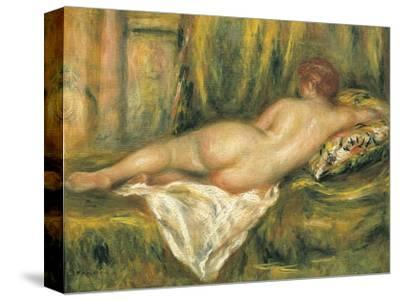 Reclining Nude from the Back, Rest after the Bath