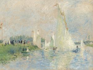 Regatta at Argenteuil, 1874 by Pierre-Auguste Renoir